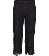 trousers casual byxor svart rosemunde
