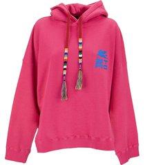 etro cotton sweatshirt with pegasus and etro logo