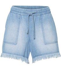 shorts di jeans con tasche grandi (blu) - rainbow