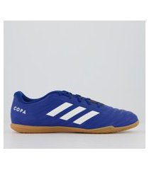 chuteira adidas copa 20.4 in futsal azul