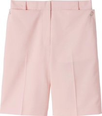 burberry pocket detail tailored shorts - pink