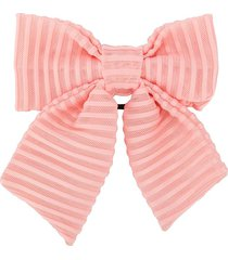 wauw capow dandy hair bow - pink