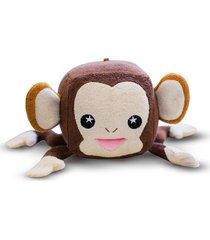 esponja de banho soap sox macaco