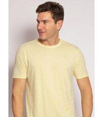 camiseta aleatory lisa stonada masculina - masculino