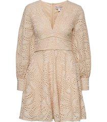 holly dress kort klänning beige love lolita