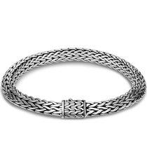 'classic chain tiga' silver medium bracelet