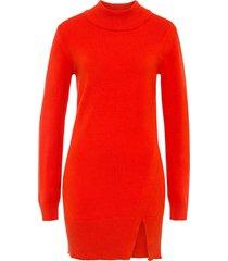 maglione lungo con spacco (arancione) - bodyflirt