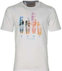 casa moda t-shirt - regular fit - wit