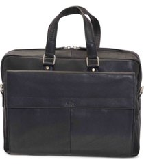 "mancini colombian collection single compartment 15.6"" laptop / tablet briefcase"