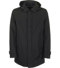 herno trence smooth long in gore-tex fabric jacket