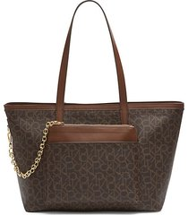 beverly monogram tote with pouch
