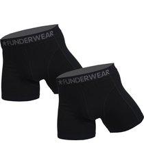 funderwear 2 pak heren boxershort 76001 extra grote maten-8xl-donker blauw