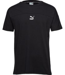 puma xtg tee t-shirts short-sleeved svart puma