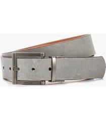 cinturón para hombre doble faz de cuero kibo