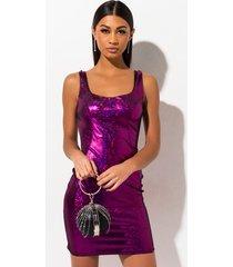 akira take my time velvet metallic mini dress