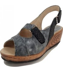 sandalia gris mdl calzados titan