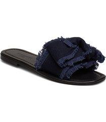 mikelas shoes summer shoes flat sandals blå becksöndergaard