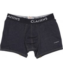 claesens mens boxer denim blue( cl 2255)