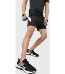 pantaloneta negro-blanco nike court dry