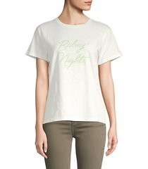 balmy nights space-dyed t-shirt