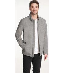 tommy hilfiger men's essential soft shell jacket heather grey - xl