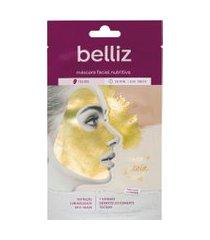 belliz máscara facial 1 unidade - nutritiva