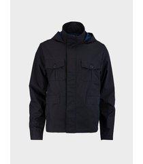 chaqueta utilitaria con capota para hombre 02660