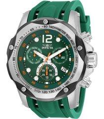 reloj invicta modelo 33961 verde hombre