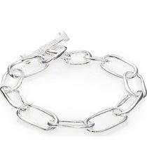 ippolita women's glamazon sterling silver elongated oval toggle bracelet
