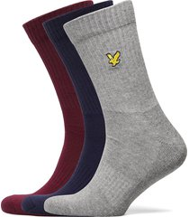 hamilton underwear socks regular socks grå lyle & scott