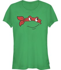 fifth sun teenage mutant ninja turtles women's raphael big face costume short sleeve tee shirt
