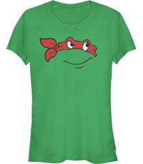 fifth sun teenage mutant ninja turtles women's raphael big face costume short sleeve tee shirt