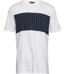 block panel tee t-shirts short-sleeved vit junk de luxe