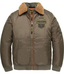 flight jacket air bridge olive night