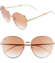 women's tommy hilfiger 58mm round sunglasses -
