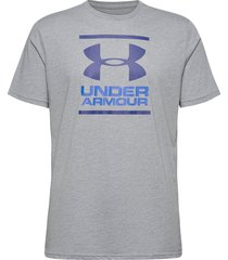 ua gl foundation ss t t-shirts short-sleeved grå under armour