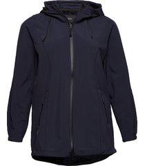 softshell jacket water repellent soft and warm sommarjacka tunn jacka blå zizzi