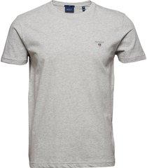 original slim t-shirt t-shirts short-sleeved grå gant