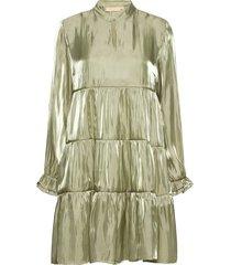 pangkb dress kort klänning grön karen by simonsen