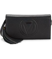 lena sauvage leather tassel shoulder bag