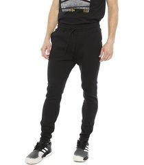 pantalón de buzo adidas performance m vrct pant negro - calce regular