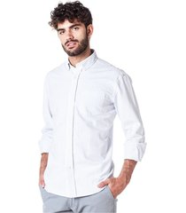 camisa blanca equus flynn classic fit