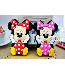 new cute cartoon mickey mouse minnie 3d soft silicone case for iphone 6 5 5s
