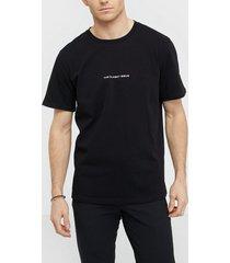 the classy issue logo tee t-shirts & linnen black