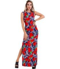 9abe5bff1 Vestidos - Longos - Azul E Vermelho Vermelho - 4 produtos com até ...
