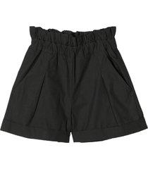 douuod dark grey cotton shorts