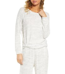 women's socialite waffle knit pullover
