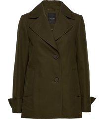 7410 - clareta short zomerjas dunne jas groen sand
