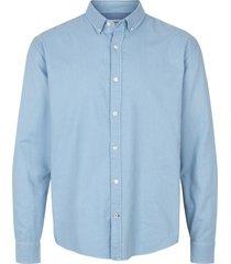 kronstadt overhemd johan oxford washed licht button down slim fit