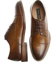 marco vittorio como cognac cap toe dress shoes